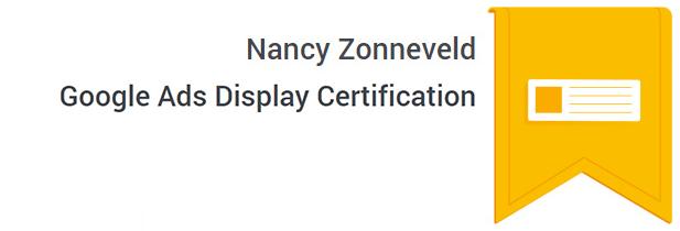 Certificaat Google Display